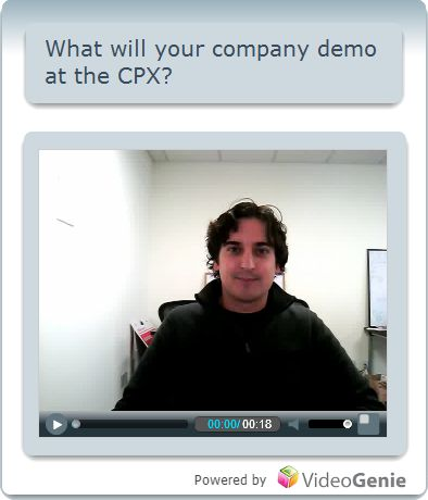 What will your company demo at the CPX?